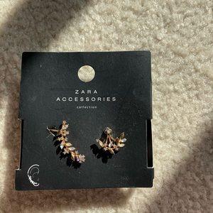 Zara ear clip with earring